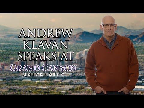 Andrew Klavan Speaks at Grand Canyon University