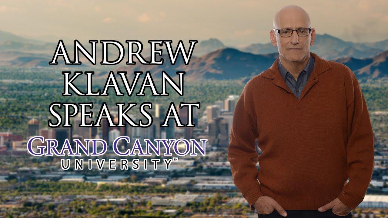 FULL SPEECH: Andrew Klavan Speaks at Grand Canyon University