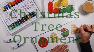 Christmas Tree Ornament Illust…