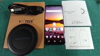 Samsung Galaxy S8 YOOTECH FAST WIRELESS CHARGER & Other Compatible Devices
