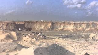 قناة السويس الجديدة: مشهد عام للحفر 31أكتوبر 2014