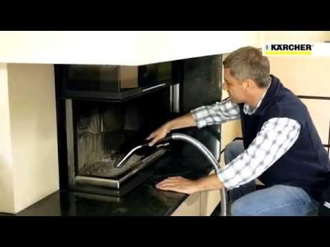 karcher aspirateur vide cendres ad 3200 youtube. Black Bedroom Furniture Sets. Home Design Ideas