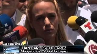 #PorLaMañana Entrevista a Juan Carlos Gutiérrez, abogado del opositor venezolano, Leopoldo López.