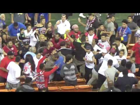 JPS title game: Spectators fight in bleachers 1/14/17