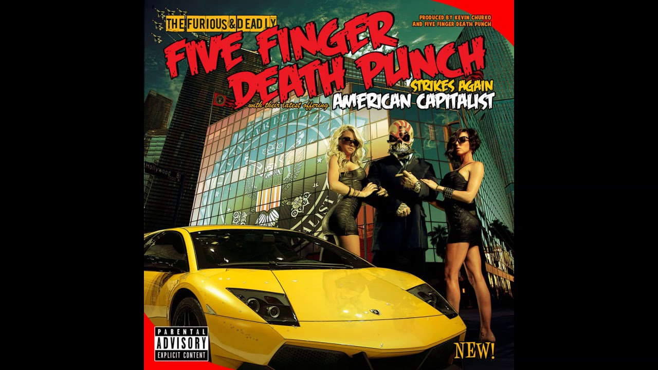 Five Finger Punch American Capitalist Full Al