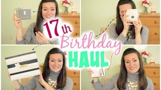 17th Birthday Haul! Thumbnail