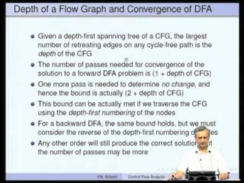 Mod-09 Lec-15 Control Flow Analysis-Part2