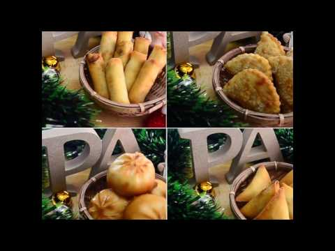 Asian Inspired Finger Food Recipes - Lets Christmas Holiday Party With PA Food!