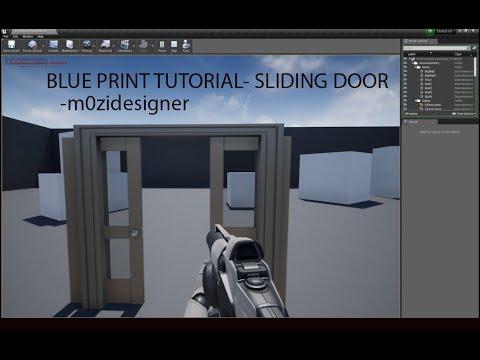 Blueprint tutorial sliding door youtube blueprint tutorial sliding door malvernweather Image collections