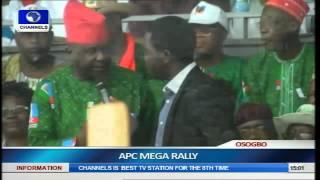 Osun Guber Election: APC Holds Mega Rally Pt.4