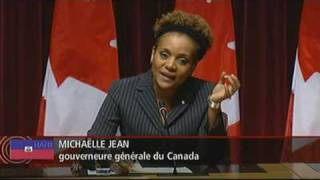 Statement by the Governor-General HE Michaëlle Jean regarding the Earthquake in Haiti (French)