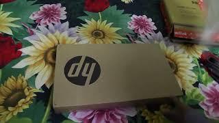 Unboxing HP 15-BS549TU Celeron Quad Core 4 GB/500 GB/15.6