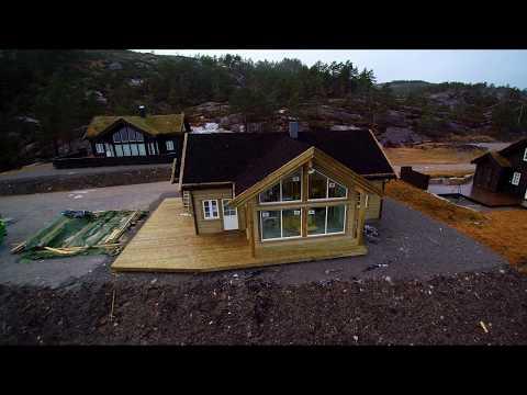 Eiken Hytter - Byggeprosess