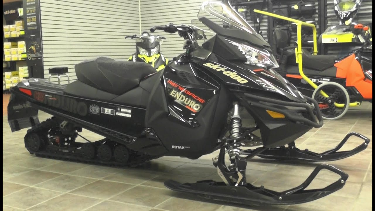 2016 Ski Doo Enduro 900ace Technical Walkaround Youtube