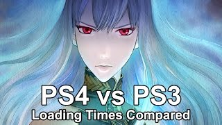 Valkyria Chronicles Remastered (PS4) vs Valkyria Chronicles (PS3) Loading Times Comparison
