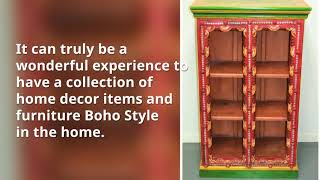Boho Style Furniture by East Connection