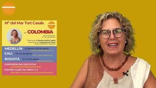 M Mar Tort i Casals, visita Colombia por 1ª vez el 17 Agosto 2019