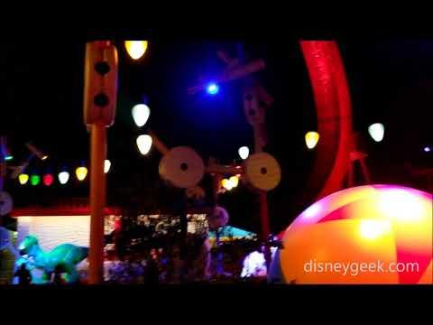 Shanghai Disneyland: Toy Story Land - A Look Around