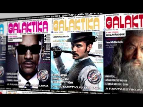 Galaktika Magazin reklámszpot, amely helyi tévékben került sugárzásra.