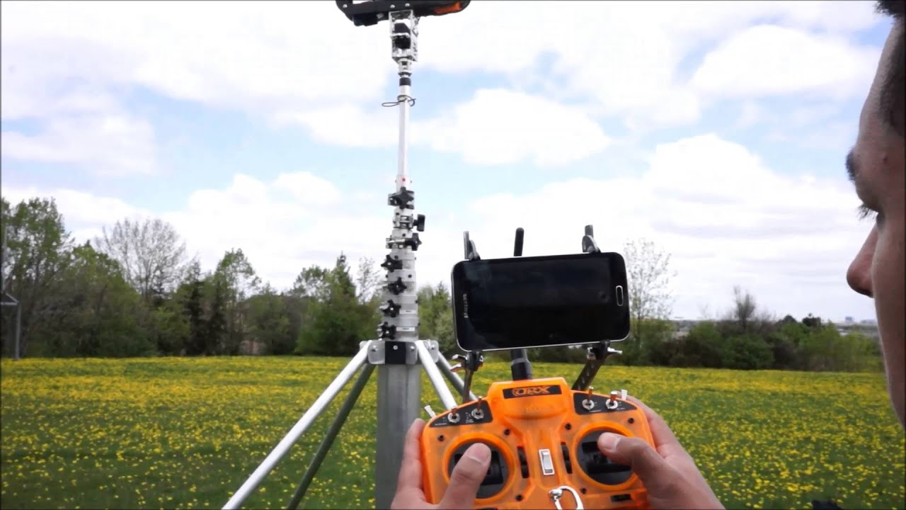 Aeromao Telescopic Mast With Standard Camera System Youtube
