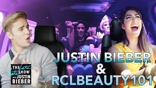 Justin Bieber & Rclbeauty101 Carpool Karaoke