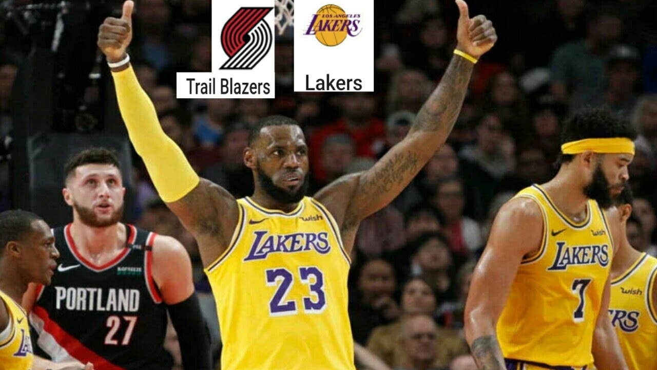 Portland Trail Blazers Vs La Lakers Full Game Highlights