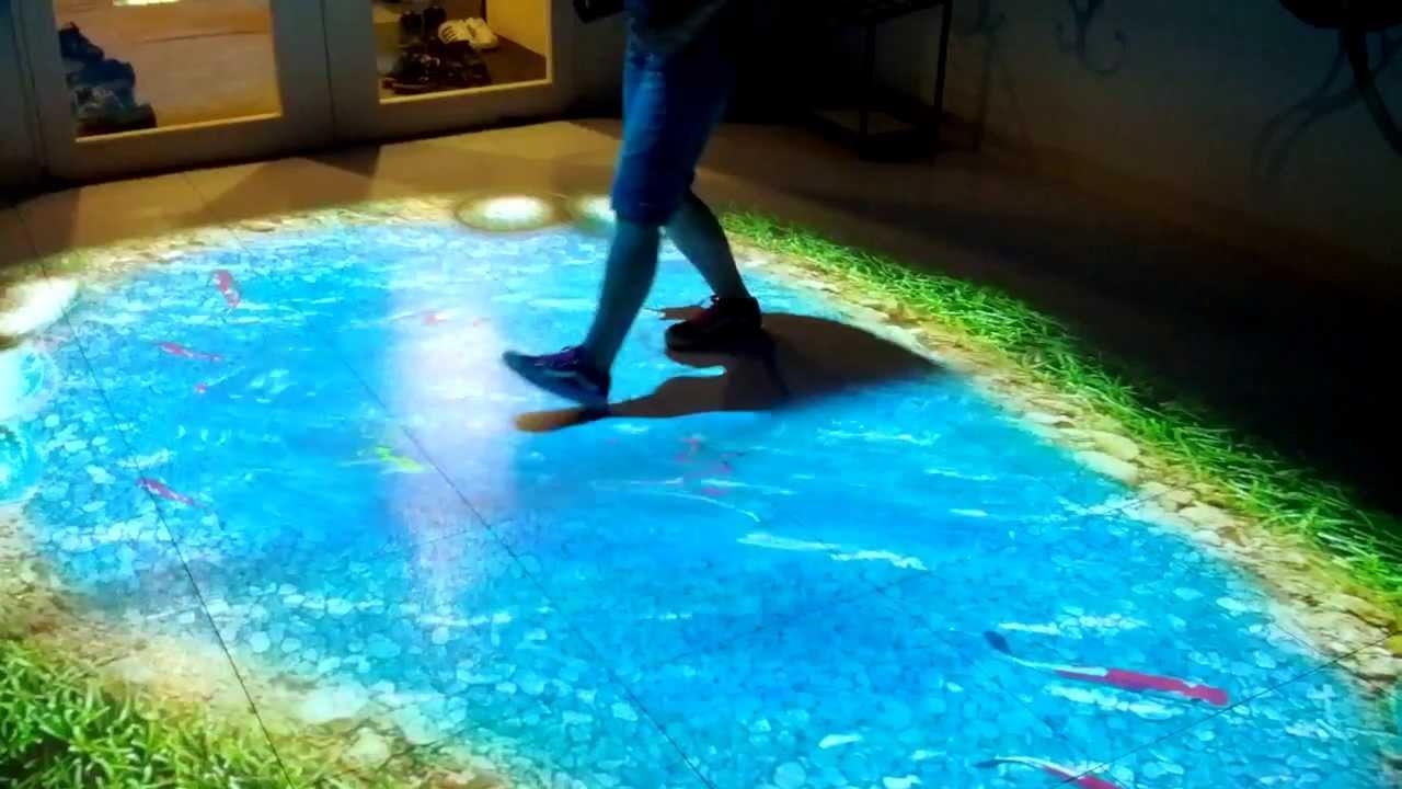 Custom Interactive Fish Pond Youtube