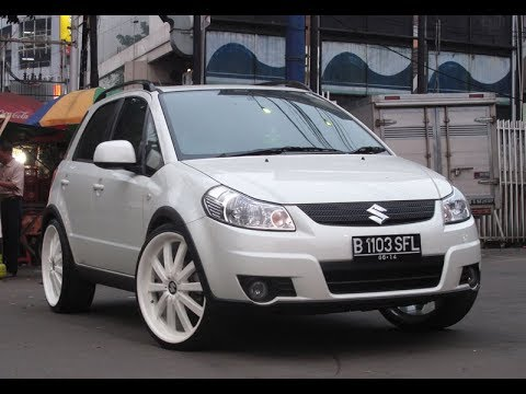 Modifikasi Asyik Mobil Suzuki Sx4 Di Indonesia Youtube