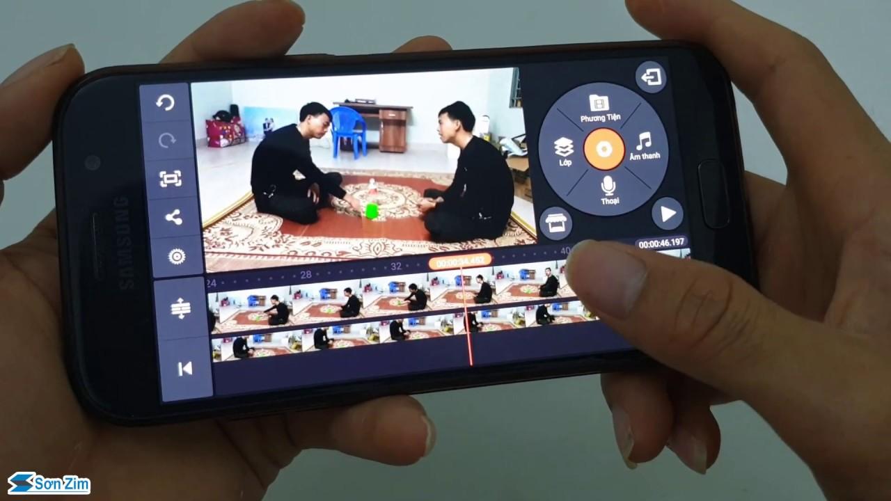 Kỹ xảo làm video 2 anh em sinh đôi trên điện thoại bằng KineMaster