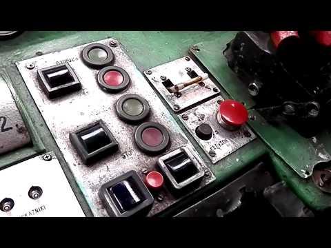 ST43-272, przedział maszynowy, kabina maszynisty. Uruchamianie silnika,