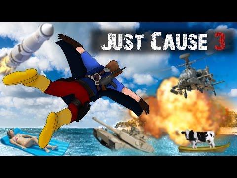 Just Cause 3 - Le petit lance missile nucléaire