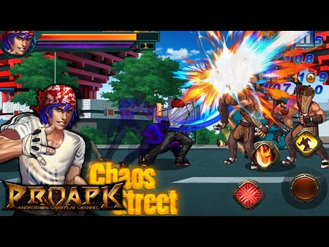 Chaos Street Avenger Fighting Gameplay Android