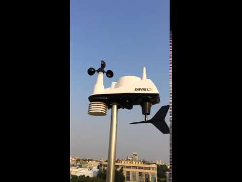 Davis weather station of vantage vue 6250