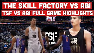 TSF vs ABI Full Game Highlights in High Definition Video   Kai Sotto November 13, 2019 Game