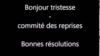 Bonjour 2015 - Bonjour tristesse, Comité des reprises