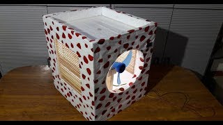 How to Make Mini Room Air cooler with Easy Ways