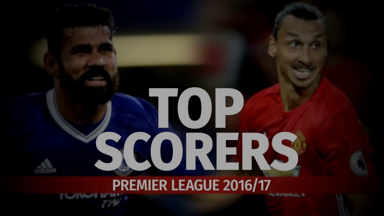Premier League Top Scorers Updated | 23 February 2017 - YouTube