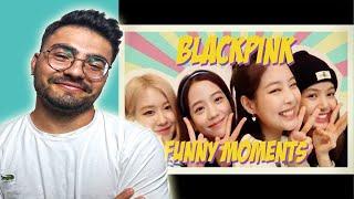 K-POP TEPKİ | BLACKPİNK FUNNY MOMENTS #2