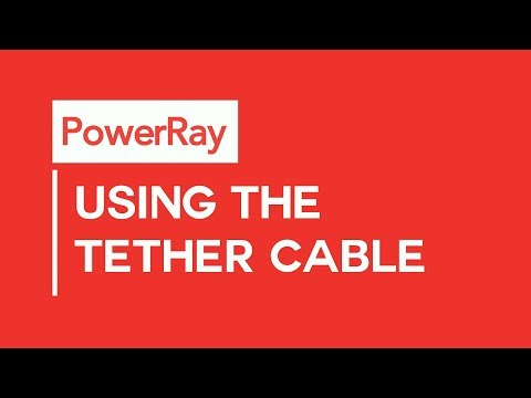 PowerRay Quick Tips - Using The Tether Cable