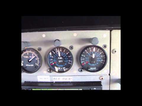 Caravan Fuel Quantity Indicator Fluctuation