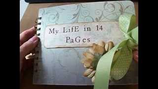 My Life in 14 Pages Scrapbook