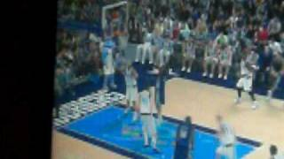 playing nba 2k10 XBOX 360
