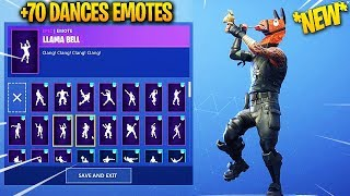 *NEW* LLAMA SKIN WITH +70 DANCES/EMOTES! Fortnite Battle Royale