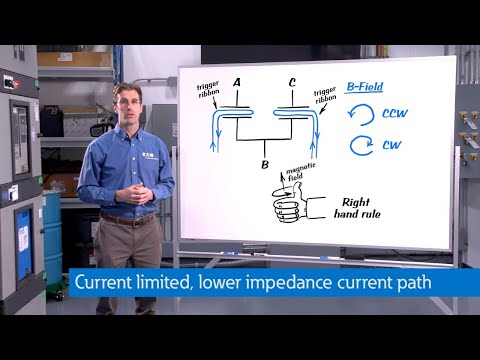 Arc Quenching  Switchgear video series: Creating a low impedance current path. Learn more at eaton.c