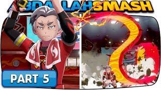 Pokemon Sword And Pokemon Shield - Part 5 Fire Gym Leader Kabu Nintendo Switch