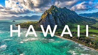 Exploring the BEST OF HAWAII 2018 // Drone Footage / DJI Mavic Pro and DJI Mavic Air