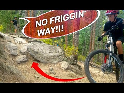 THE IMPOSSIBLE SWITCHBACK & THE 12 YEAR OLD THAT PROVED US WRONG