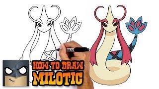 How to Draw Milotic | Pokemon