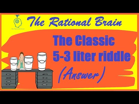 Can You Solve The Three Bucket Puzzle Brain Teasers Mind