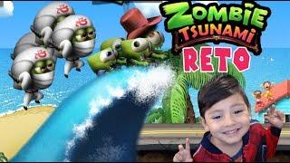 Zombie Tsunami | Zombies en la Playa con Ninjas | Juegos para niños